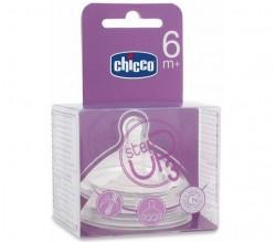 CHICCO TETINA STEP UP 6M+ FLUJO PAPILLA 2UDS