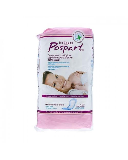 Indasec® Pospart® Compresas12 Uds
