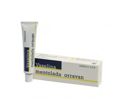 VASELINA MENTOLADA ORRAVAN (POMADA 13 G )